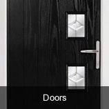 Pinefield Glass supply composite doors and bi fold doors